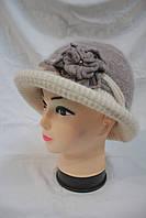 Женская шапка ангора оптом