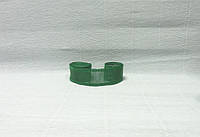 Лента из мешковины, Зеленая, 5см
