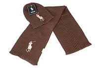 Разные цвета в стиле Ральф лорен поло шапка + шарф вязаные для взрослых и подростков хлопок ралф лорен, фото 1