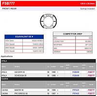 Тормозные колодки барабанные Ferodo FSB777