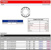 Тормозные колодки барабанные Ferodo FSB946