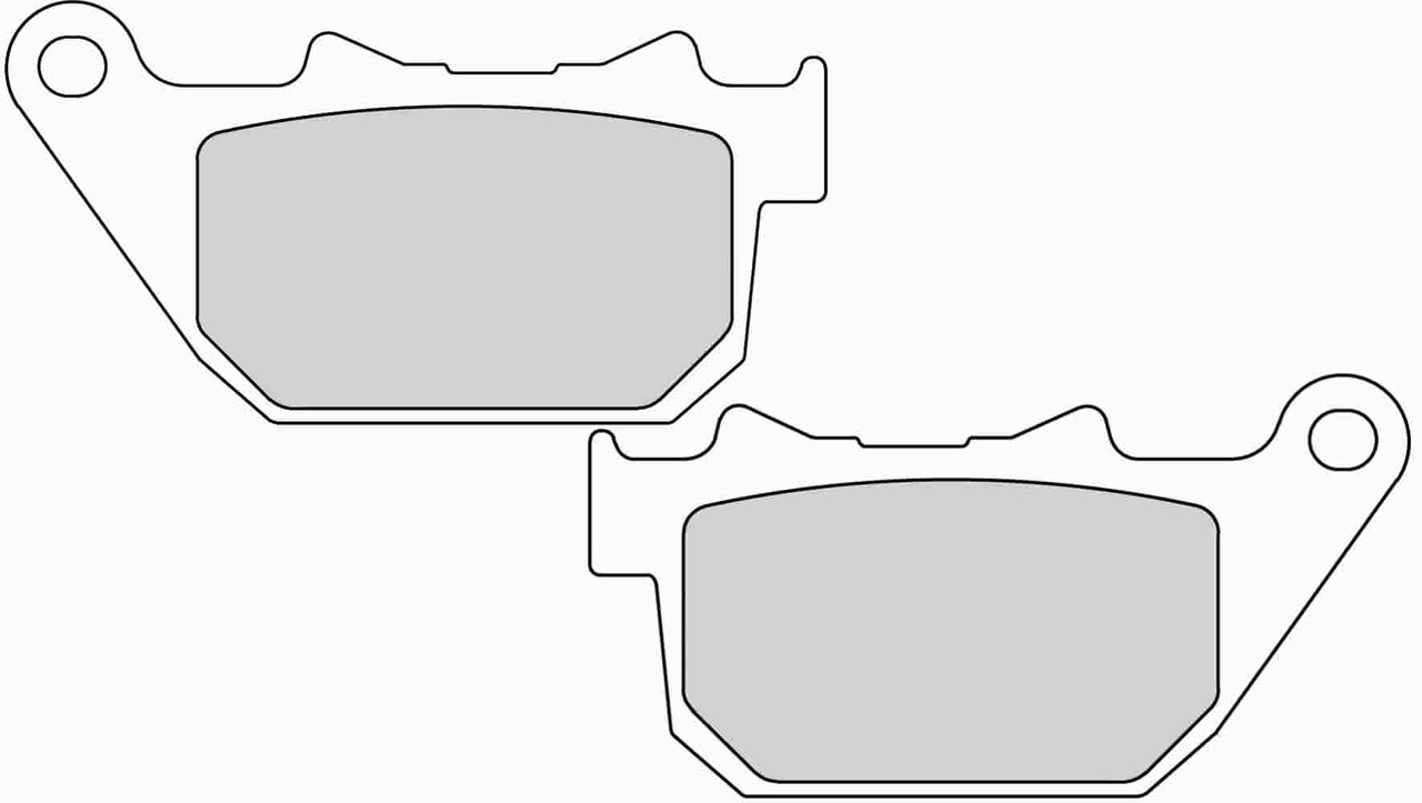 Тормозные колодки Ferodo FDB2180P