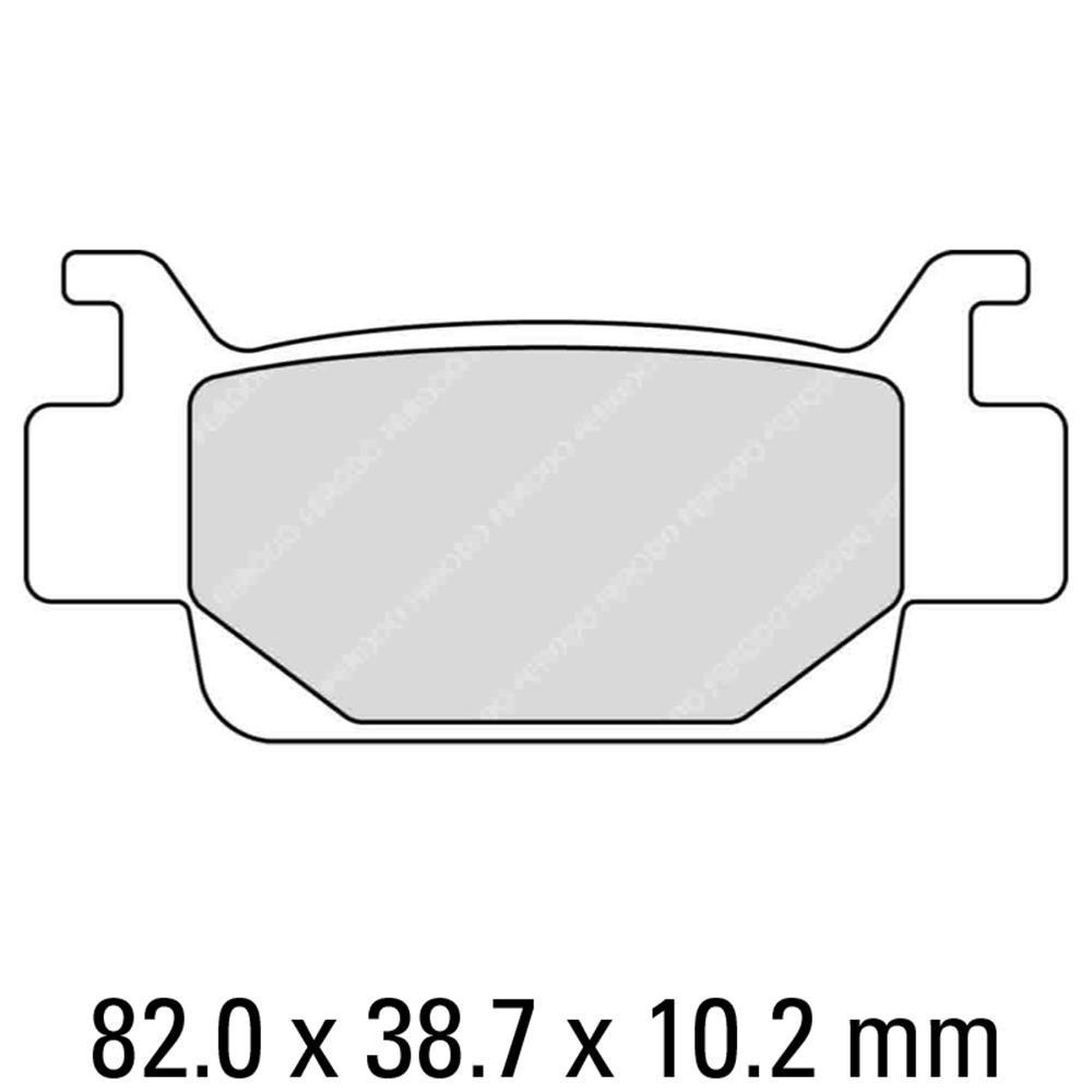 Тормозные колодки Ferodo FDB2195SG