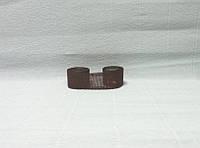 Лента из мешковины, Темно-коричневая, 2,5см