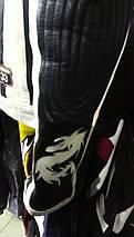 Мотокуртка бу с иероглифами, фото 2