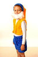Яркий детский новогодний костюм для мальчика Гном (В-2)