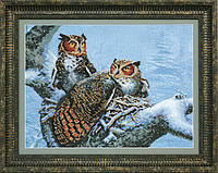 Набор для частичной вышивки крестиком Crystal Art Теплое гнездо ВТ-526