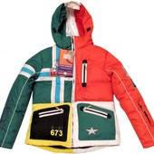 Женская лыжная куртка размер S