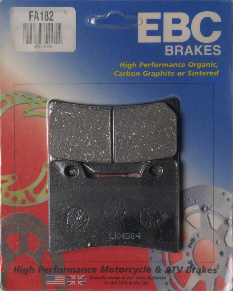 Тормозные колодки EBC FA182