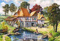 Пазлы Водяная мельница, 2000 элементов Castorland С-200498