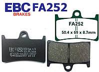 Тормозные колодки EBC FA252