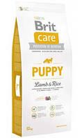 Brit Care Puppy All Breed Lamb & Rice 12кг- корм для щенков с ягненком
