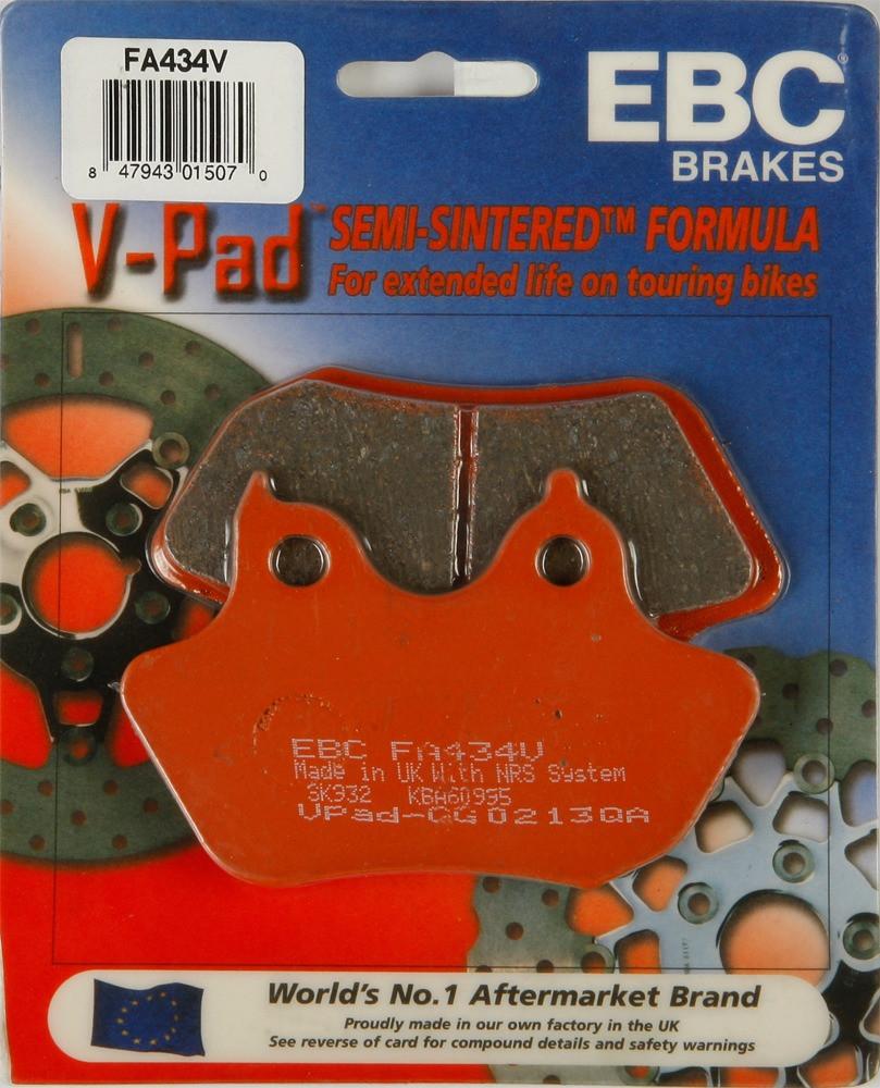 Тормозные колодки EBC FA434V