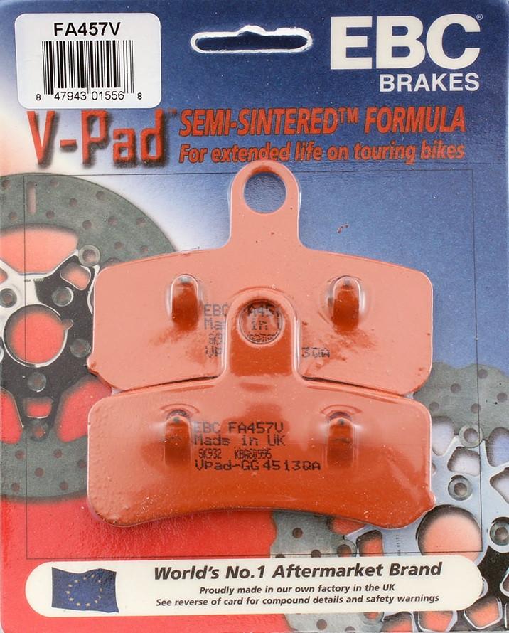 Тормозные колодки EBC FA457V для мотоцикла HARLEY-DAVIDSON