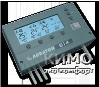 4-х канальный многофункциональный контроллер для твердотопливных котлов, укомплектован одним датчиком Auraton