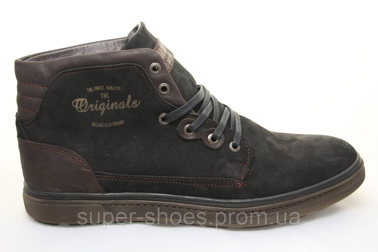 61eb82297 Распродажа по оптовым ценам!!! Мужские зимние кожаные ботинки Belvas  -www.super