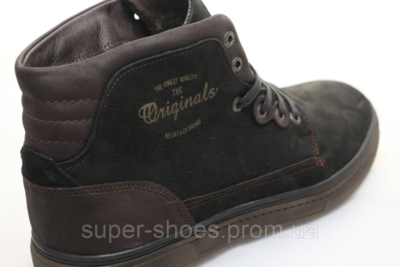 f1eff2b55 ... Распродажа по оптовым ценам!!! Мужские зимние кожаные ботинки Belvas  -www.super ...