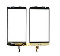 Сенсор (тачскрин) LG L BELLO Dual D335  Gold