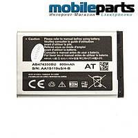 Оригинальный аккумулятор АКБ батарея SAMSUNG D780 / AB474350BU  800mAh