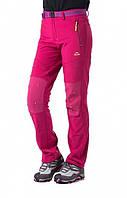 Брюки туристические женские SoftShell NatureHike розовый NH01Y008-K
