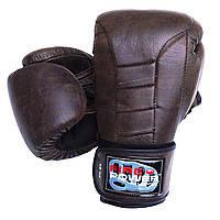 Перчатки боксерскиеFirePower FPBG7FPBG7-BKКожаЧерный10, 12 Oz
