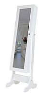 Напольное зеркало в раме TK 001 с нишей для белья (Лотос-М)