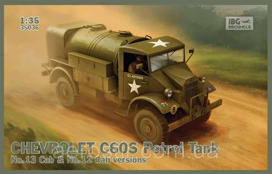 CHEVROLET C60S Petrol Tank 1/35 IBG Models 35036
