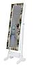 Підлогове дзеркало в рамі TK 004 з нішею для білизни. Париж (Лотос-М)