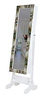 Підлогове дзеркало в рамі TK 004 з нішею для білизни. Париж (Лотос-М), фото 1
