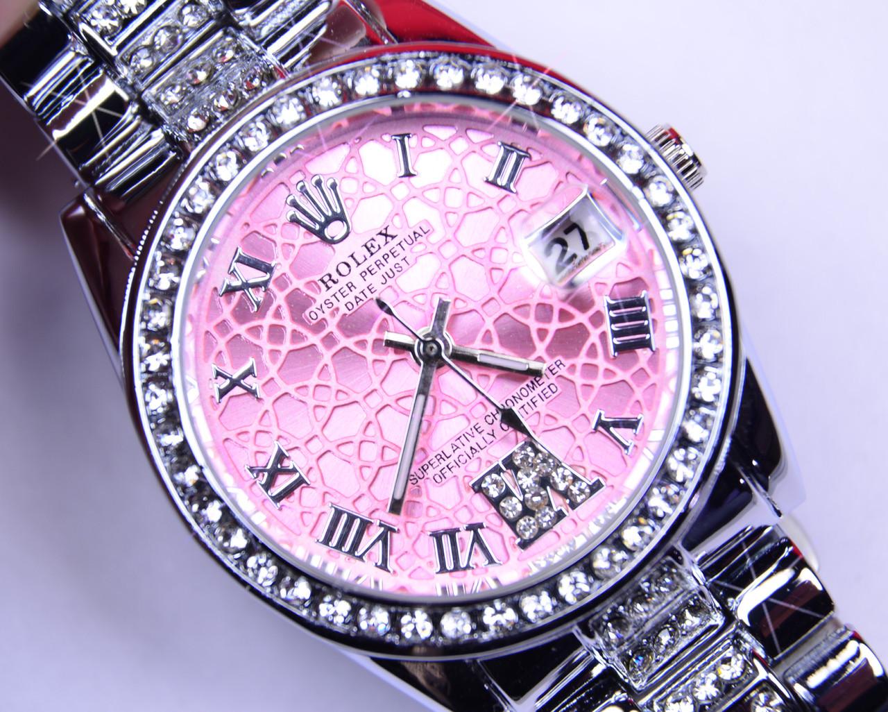 Женские часы Rolex Qyster Perpetual DateJust календарь