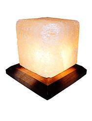 Соленая лампа Кубик  1 кг. ( Украина )