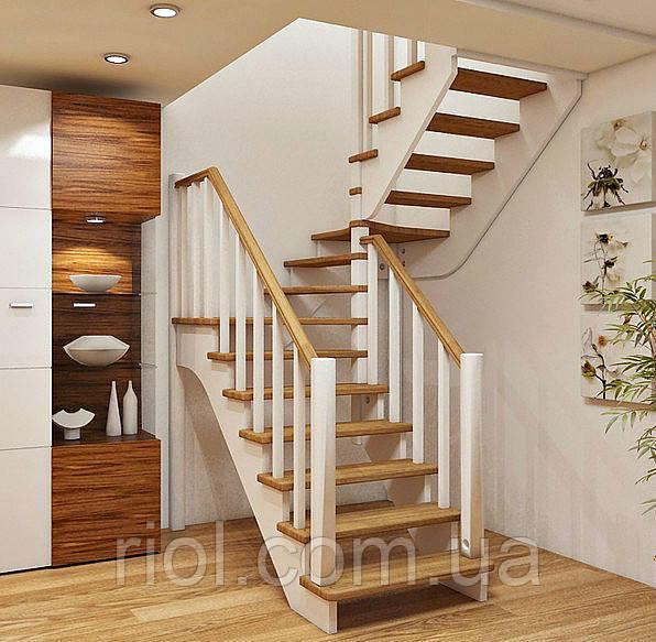 лестница двумаршевая