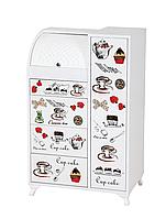 Комод для кухни двойной EK 009 Чайнички (Лотос-М)