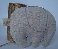 Игрушка для детей, сувенир, подарок, эко игрушка, элемент декора «СЛОН»
