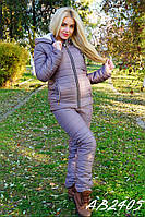 Костюм женский тёплый на овчине 1044 вик., фото 1