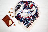 Модный платок с абстрактным рисунком