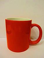 Чашка для сублимации хамелеон ГЛЯНЕЦ (красный)