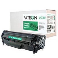 Картридж Patron (PN-12A/703GL) Canon LBP-2900/3000/HP LJ 1010/1015/1020/1022/3015/3030/M1005/M1319f (аналог Canon 703/Q2612A) Green Label