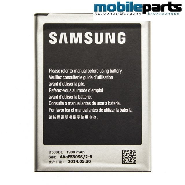 Оригинальный аккумулятор АКБ батарея SAMSUNG I9190 GALAXY S4 MINI / B500AE  1900mAh