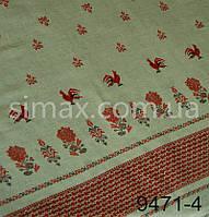 Скатертная ткань Рогожка, Скатертная ткань набивная