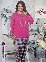 Пижамы большого размера из плотного трикотажа., фото 1