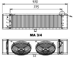 Воздухоохладители МА 3 ED S.E.R. (Италия)