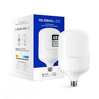 Светодиодная лампа высокомощная 1-GHW-004 HW E27 40W 6500K 220V GLOBAL