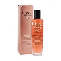 """Флюид-блеск  Oro-Therapy """"Рубин"""" для окрашеных волос, 100 мл."""