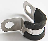 Крепежная скоба для трубки