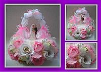 Свадебная арка из конфет