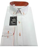 Рубашка мужская айвори S 15.9, фото 1
