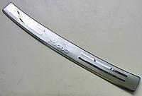 FOCUS 2009-2011 hatchback  накладка заднего бампера