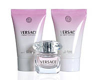 Женская туалетная вода Versace Bright Crystal 5ml + L25ml + G25ml набор