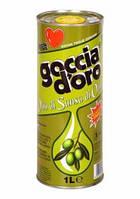 Оливковое масло goccia doro Olio di Sansa di Oliva 1000мл.